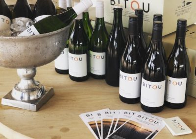 Bitou Wines. Bitou Vineyards. Wine Bottles. Wine box. Packaging